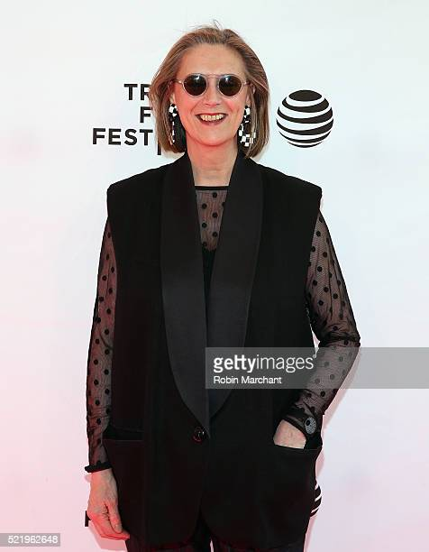 Susan Boyd attends 'A Kind of Murder' premiere during 2016 Tribeca Film Festival at SVA Theatre 2 on April 17 2016 in New York City