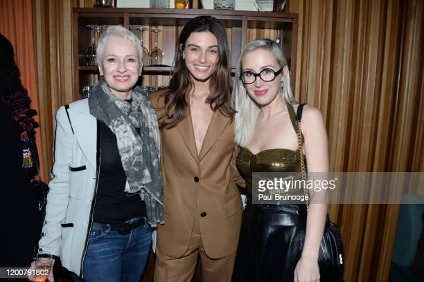 Susan Bozek Mariah Strongin and Sterling McDavid attend MAC Nordstrom And The CFDA Host The After Party For The Times Of Bill Cunningham at Bistrot...