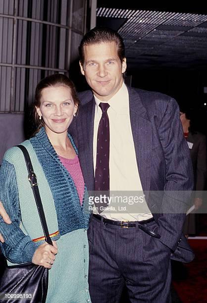 Susan Bridges and Jeff Bridges during MGM Studios Jeff Bridges Sighting December 18 1986 at MGM Studios in Culver City California United States