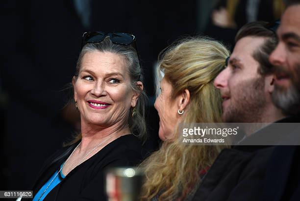 Susan Bridges attends actor Jeff Bridges' hand and footprint ceremony at the TCL Chinese 6 Theatres on January 6 2017 in Hollywood California