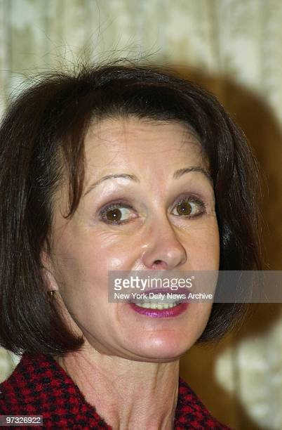 Susan Brown Mayor Michael Bloomberg's former wife speaks at a luncheon in the St Regis Hotel on Fifth Ave where the American Cancer Society honored...