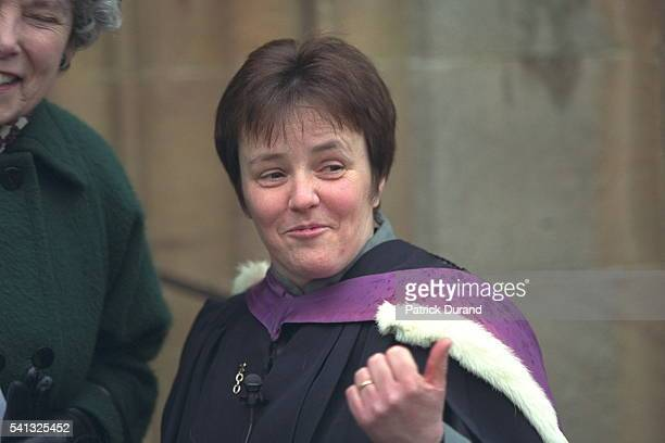Susan Brown the priest who will officiate at Madonna and Guy Ritchie's wedding