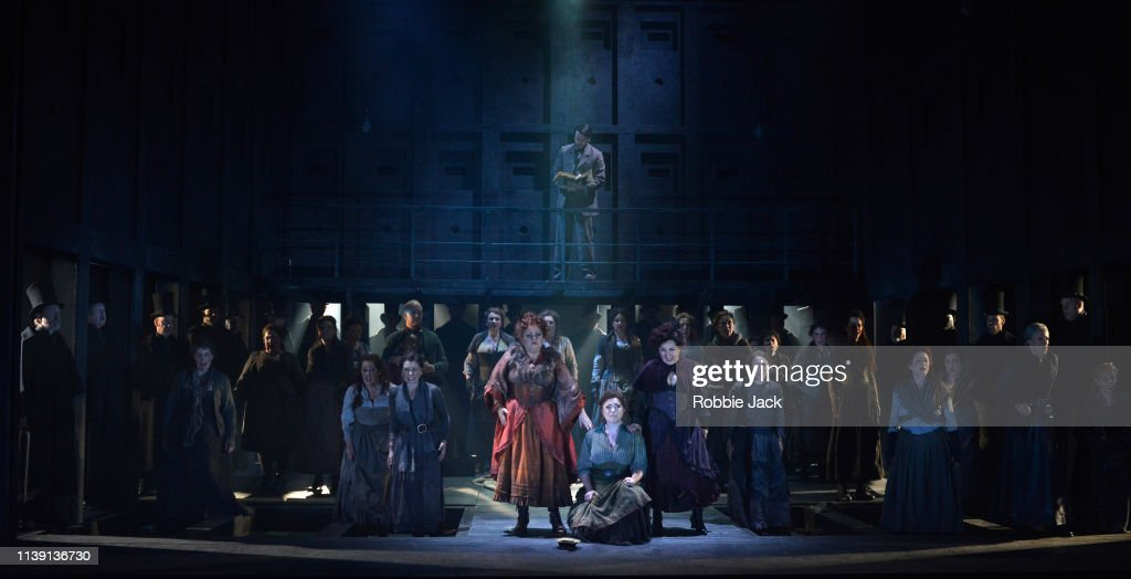 English National Opera's Production Of Iain Bell's Jack The Ripper:The Women Of Whitechapel : News Photo