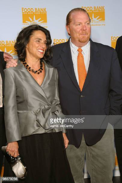Susan Cahn and Chef Mario Batali attend the Food Bank for New York City's 8th Annual CanDo Awards dinner at Abigail Kirsch�s Pier Sixty at Chelsea...