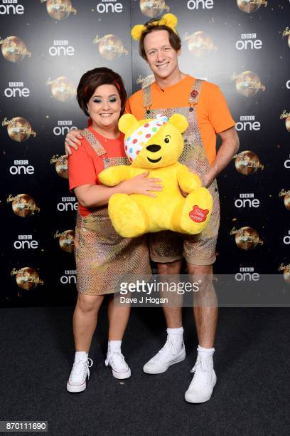 Susan Calman and Kevin Clifton attend the Strictly Come Dancing for BBC Children in Need photocall at Elstree Studios on November 4 2017 in...