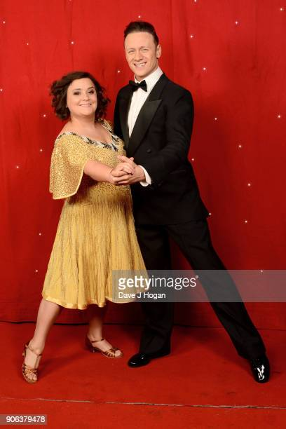 Susan Calman and Kevin Clifton attend the 'Strictly Come Dancing' Live photocall at Arena Birmingham on January 18 2018 in Birmingham England Ahead...