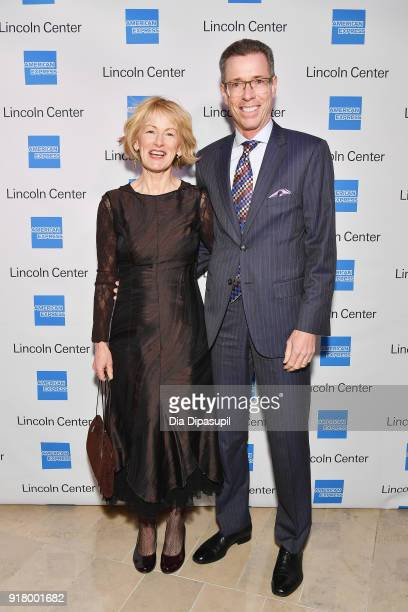 Susan Campbell and Jeffrey Campbell attend the Winter Gala at Lincoln Center at Alice Tully Hall on February 13 2018 in New York City