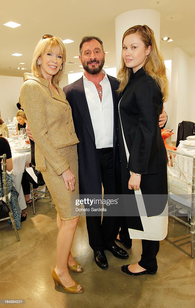 Susan Casden, Designer Ralph Rucci and Tatiana Sorokko attend Saks Fifth Avenue presents designer Ralph Rucci at Saks Fifth Avenue Beverly Hills on March 22, 2013 in Beverly Hills, California.
