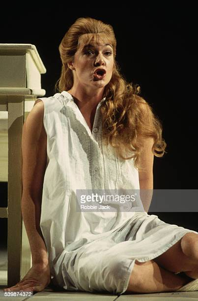 Susan Chilcott performs in an English National Opera production of Rusalka