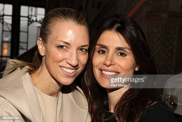 Susan Chokachi and Florinka Pesenti attend ELLE's annual Women in Washington Power List dinner hosted by Robbie Myers ELLE EditorinChief with Gucci...