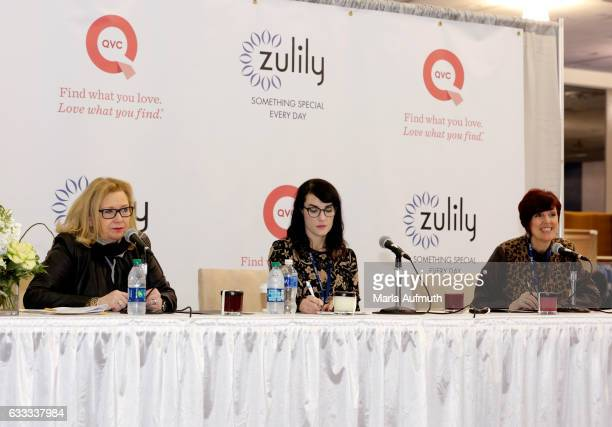 Susan Connell Zulily VP of Women's Merchandising Kate Aulabaugh Zulily Director of Home and Heather McNicholl QVC Director of Vendor Education and...