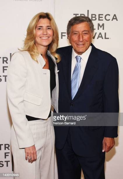 Susan Crow and singer Tony Bennett attend the Zen Of Bennett Special Screening during the 2012 Tribeca Film Festival at the Borough of Manhattan...