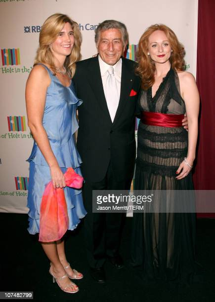 Susan Crow Tony Bennett and Antonia Bennett during Singers and Songs Celebrate Tony Bennett's 80th to Benefit Paul Newman's Hole in the Wall Camps...