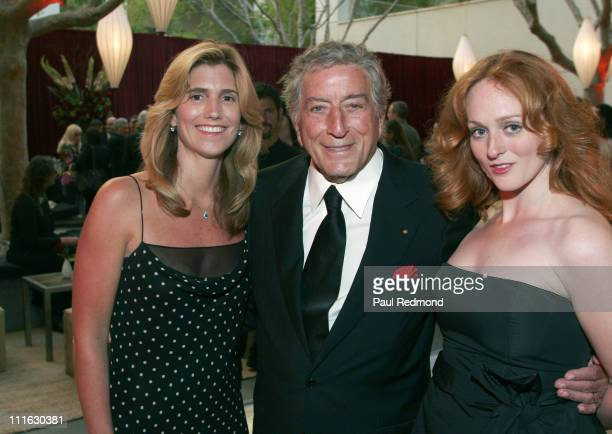 Susan Crow Tony Bennett and Guest during The Los Angeles Film Festival Presents Spirit of Independence Award to Clint Eastwood at Billy Wilder...