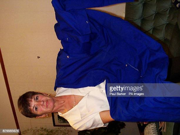 Susan Delancey from Hull who was today awarded 4000 in damages after she developed an asbestosrelated condition after shaking her husband's overalls...