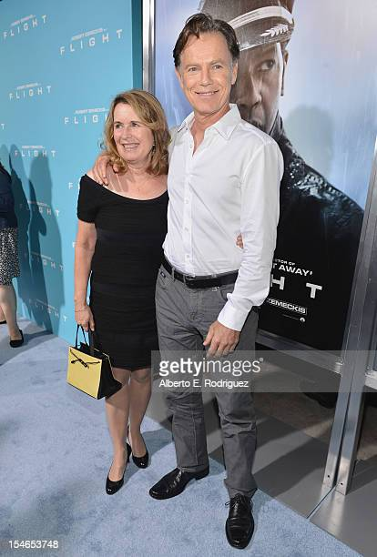Susan Devlin and actor Bruce Greenwood arrive to the Los Angeles Premiere of Paramount Pictures' 'Flight' at ArcLight Cinemas on October 23 2012 in...