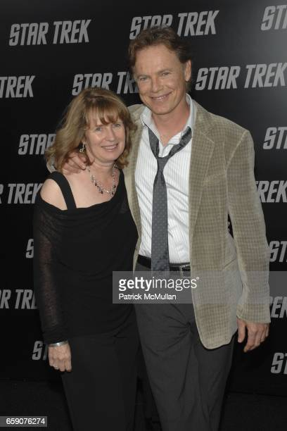 """Susan Devlin and Bruce Greenwood attend """"Star Trek"""" Premiere at Grauman' Chinese Theatre on April 30, 2009 in Los Angeles, CA."""