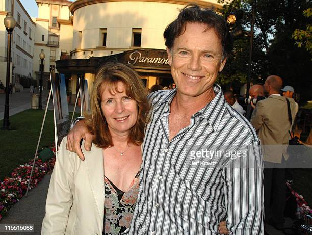 Susan Devlin and Bruce Greenwood during Los Angeles Premiere of the HBO Original Series John From Cincinnati Red Carpet at Paramount Theater in...