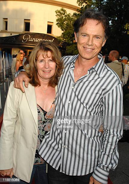 """Susan Devlin and Bruce Greenwood during Los Angeles Premiere of the HBO Original Series """"John From Cincinnati"""" - Red Carpet at Paramount Theater in..."""