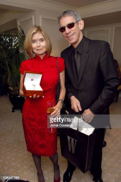 Susan Dey and Richard Belzer with watches by Michele Watches