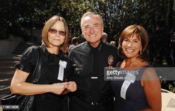 Susan Dey Los Angeles Police Chief William Bratton and wife attend the Rape Treatment Center Annual Benefit on September 30 2007 in Beverly Hills...