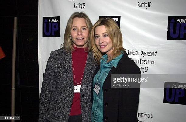 Susan Dey Sharon Lawrence during Launch party for Power Up at Ciudad in Los Angeles California United States
