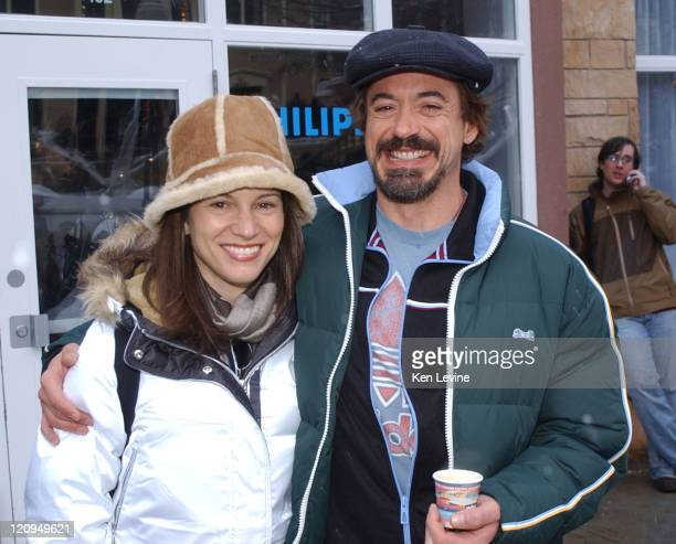 Susan Downey and Robert Downey Jr. During 2006 Park City - Seen Around Town - Day 3 in Park City,, Utah, United States.