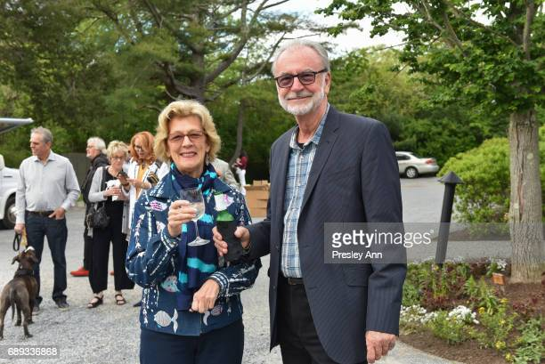 Susan Dusenberry and Tom Dekin attend ARF Thrift Shop Designer Show House and Sale at ARF Thrift Treasure Shop on May 27 2017 in Sagaponack New York