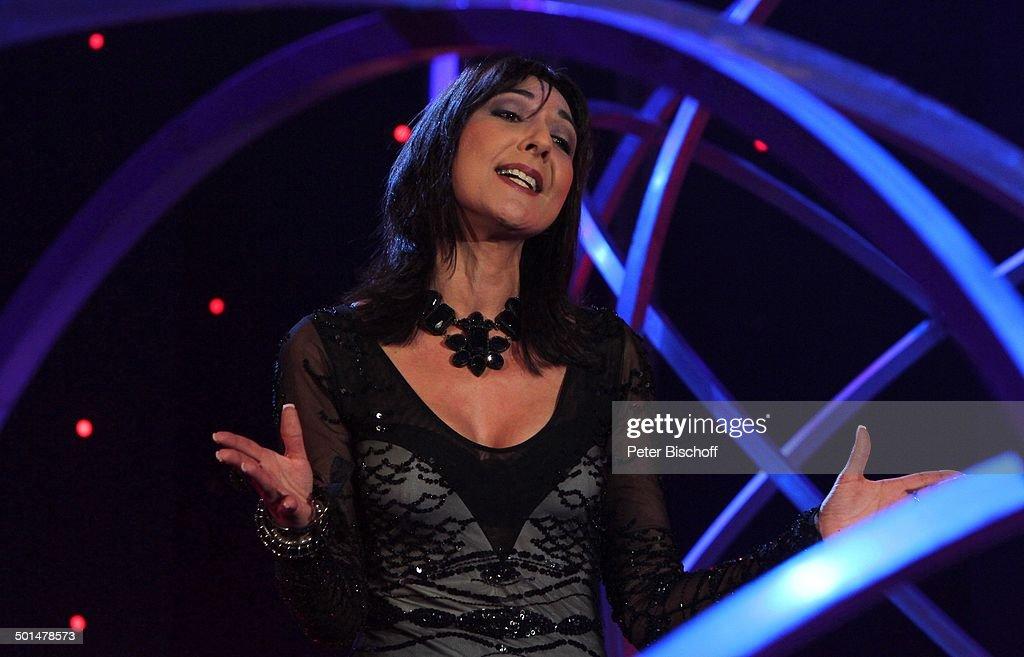 Susan Ebrahimi, MDR-Musikshow 'Schlager des Jahres 2010', Congress Centrum Suhl, Thü : Nachrichtenfoto