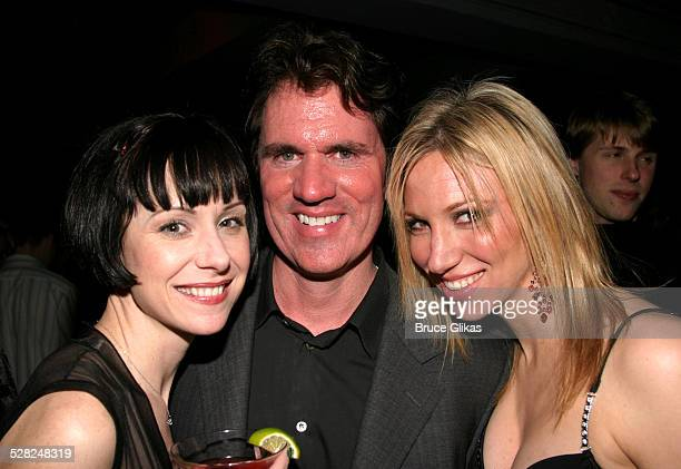 Susan Egan Rob Marshall and Deborah Gibson during Sam Mendes and Rob Marshall's Broadway Production of Cabaret Closing Night at Studio 54 in New York...