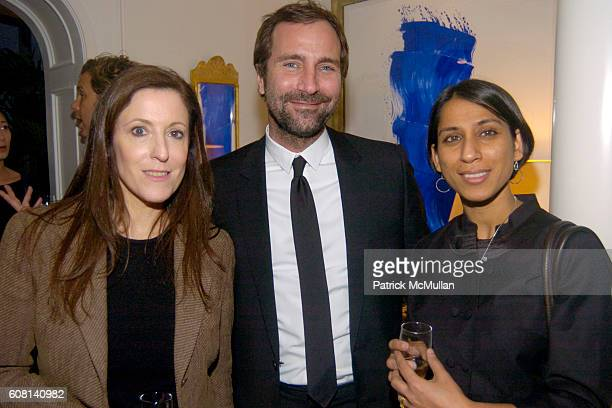 Susan Ennis James Costos and Gurmeet Kaur attend MICHAEL S SMITH AGRARIA COLLECTION LAUNCH at Lowell Hotel on April 18 2007