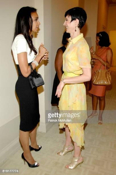 Susan FalesHill and Amy Fine Collins attend Susan FalesHill's ONE FLIGHT UP Book Launch Party at 15 Central Park West on July 21st 2010 in New York...