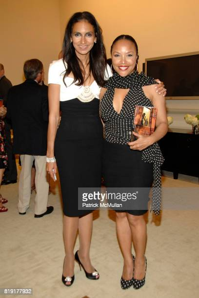 Susan FalesHill and Lynn Whitfield attend Susan FalesHill's ONE FLIGHT UP Book Launch Party at 15 Central Park West on July 21st 2010 in New York City