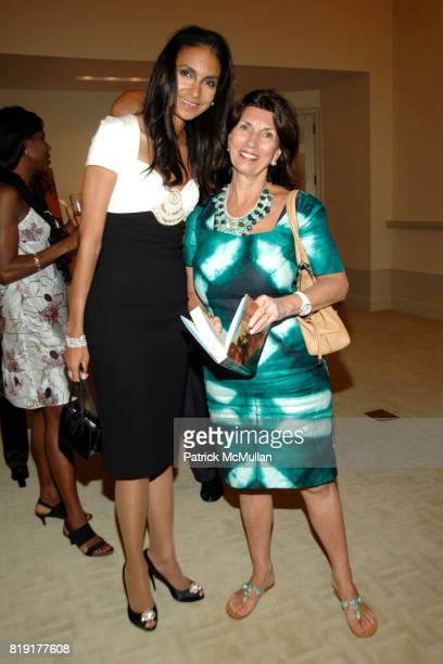Susan FalesHill and Pamela Fiore attend Susan FalesHill's ONE FLIGHT UP Book Launch Party at 15 Central Park West on July 21st 2010 in New York City