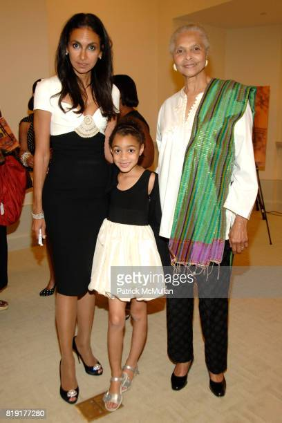 Susan FalesHill Bristol FalesHill and Grace Hope Hill attend Susan FalesHill's ONE FLIGHT UP Book Launch Party at 15 Central Park West on July 21st...