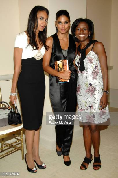 Susan FalesHill Rachel Roy and Deborah Roberts attend Susan FalesHill's ONE FLIGHT UP Book Launch Party at 15 Central Park West on July 21st 2010 in...