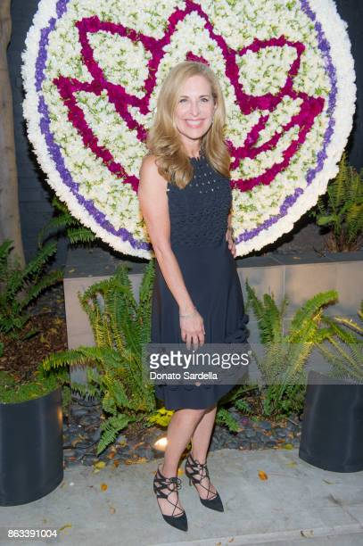 Susan Feldman at Living Beauty 'The Gift' Photo Exhibit at The Buterbaugh Gallery on October 19 2017 in Los Angeles California