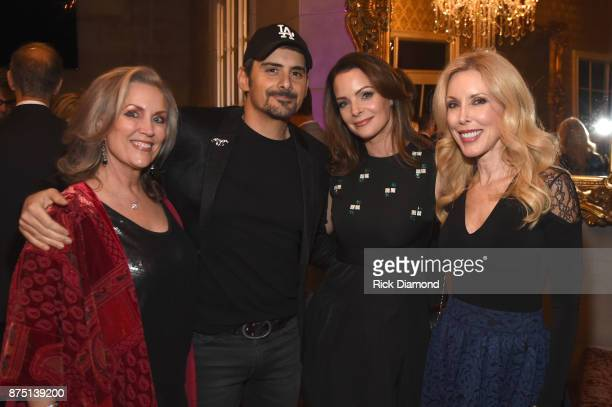 Susan Galeas Brad Paisley Kimberly WilliamsPaisley and Kim Campbell attend ACM Lifting Lives featuring Little Big Town hosted and underwritten by...
