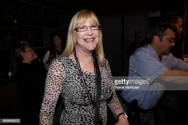 Susan GarboseBrown attends AN EVENING with BERNARD FOWLER at The Knitting Factory on May 19 2009 in New York