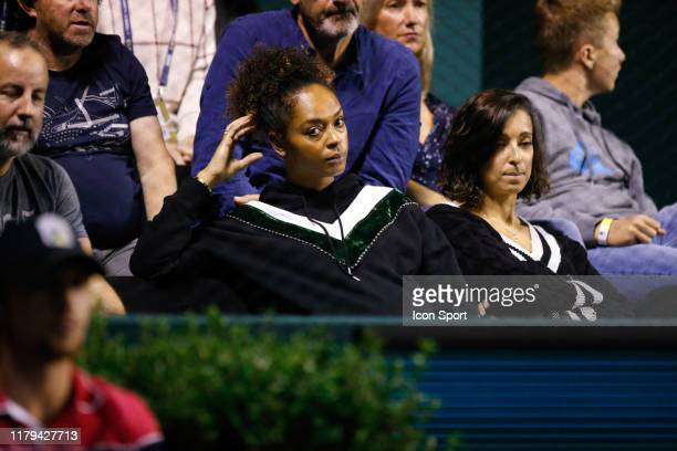 Susan GOSSAGE wife of Jeremy CHARDY during the Day 5 of the Rolex Paris Masters at AccorHotels Arena on November 1 2019 in Paris France