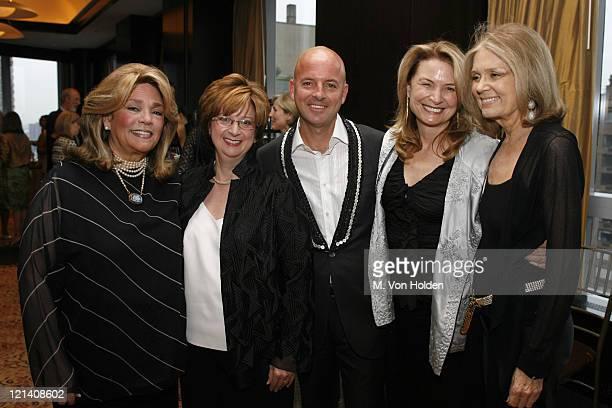 Susan Grode Betty Cohen Rob McKay Anna Hawken McKay and Gloria Steinem