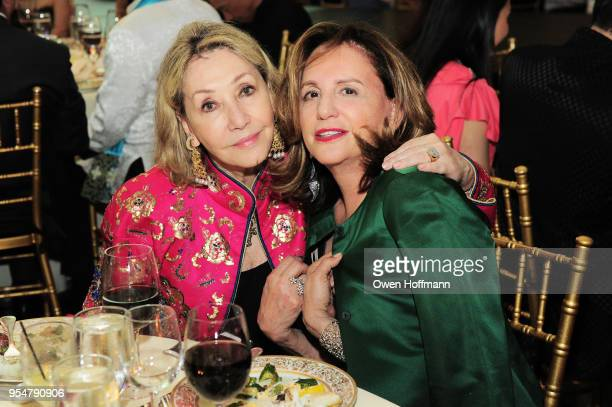 Susan Gutfreund and guest attend the 2018 China Fashion Gala at The Plaza Hotel on May 4 2018 in New York City
