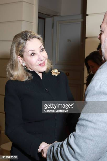 Susan Gutfreund during the Susan Gutfreund Hosts UN Women For Peace Association Reception on February 12 2018 in New York City