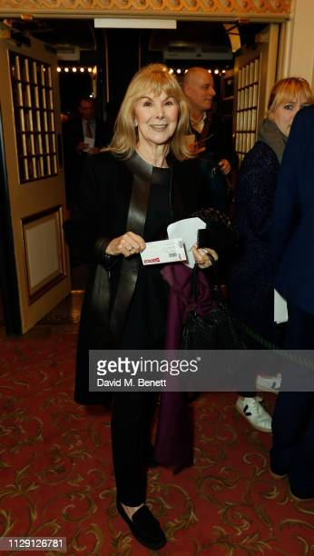 Susan Hampshire attends the press night performance of 'Ian McKellen On Stage' a special one man show celebrating his 80th birthday at Duke Of York's...