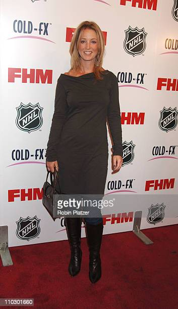 Susan Haskell during The NHL and FHM Magazine Celebrate The 20062007 Hockey Season at Marquee in New York City New York United States