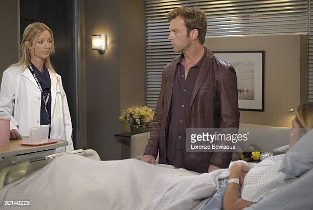LIVE Susan Haskell Trevor St John and Kassie DePaiva in a scene that begins airing the week of October 12 2009 on ABC Daytime's 'One Life to Live'...
