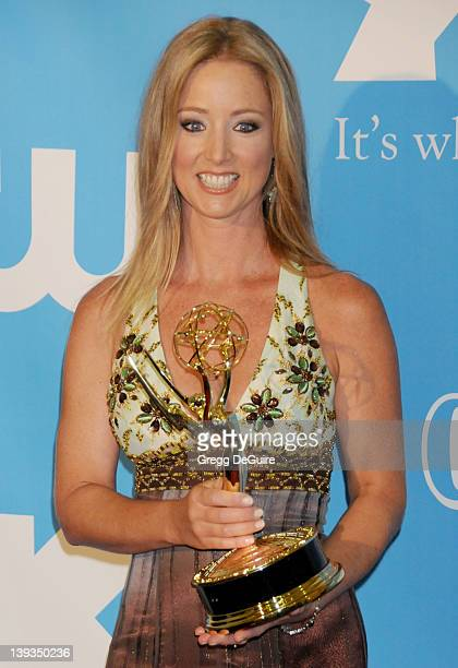 Susan Haskell winner of Emmy for Lead Actress in a Drama Series poses in the press room at the 36th Annual Daytime Emmy Awards held at the Orpheum...
