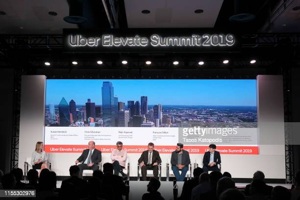 Susan Hendrick Head of Communications Federal Affairs Uber moderates a panel with Chris Monahan Executive Manage National Operations Standards Civil...
