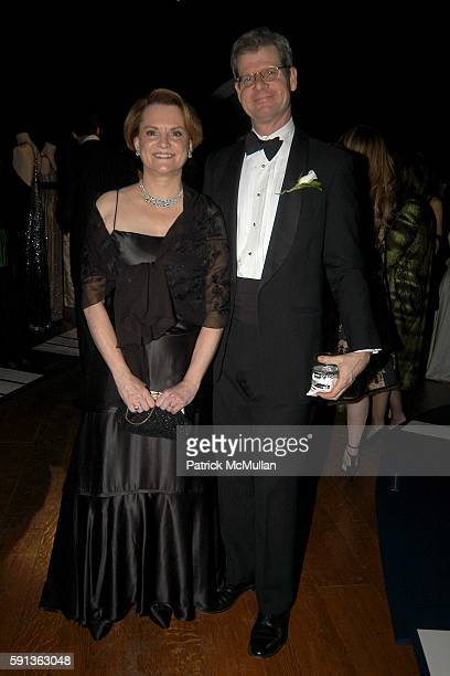 Susan Henshaw Jones and Peter Rockefeller attend The Director's Council of the Museum of the City of New York Winter Ball Sponsored by Yves Saint...