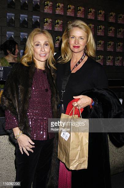 Susan Hess and Donna Dixon during The Whitney Biennial 2006 Day for Night Opening at The Whitney Museum of American Art in New York New York United...